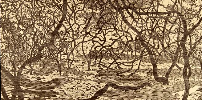 Eve Stockton Woodland Landscape II