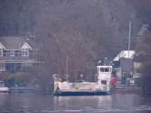 Windermere ferry at Ferry Nab (Bowness; east shore): February 2019
