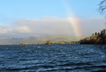 Windermere from Bowness Bay (Christmas Eve)